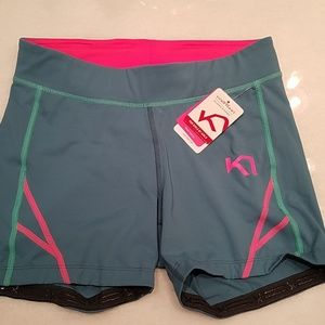 NWT compression workout shorts